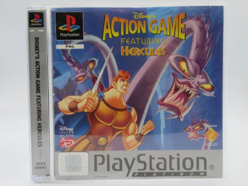 Hercules Action Game  Platinum (Playstation)